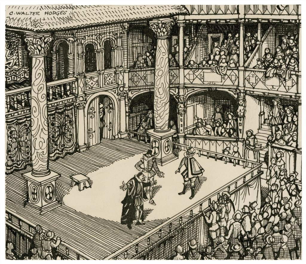 What was the Role of Theatre in Elizabethan England?, figure 1