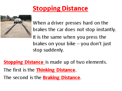 Stopping Distance, figure 1