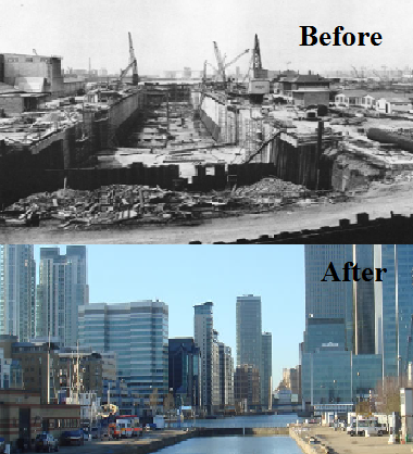 Docklands Decline, figure 1